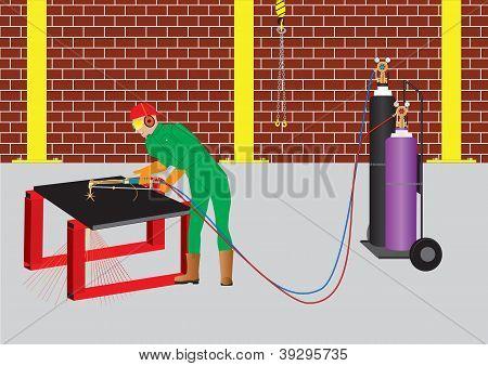 Oxy Acetylene Cutter