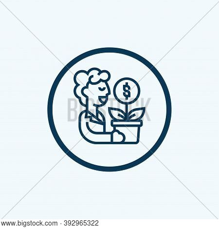 Compensation Icon. Simple Element From Crisis Collection. Creative Compensation Icon For Web Design,