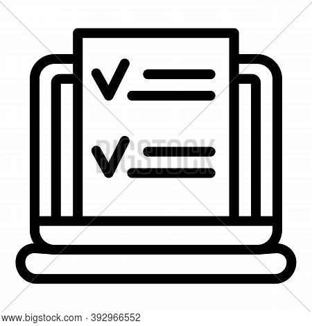 Data Monetization Icon. Outline Data Monetization Vector Icon For Web Design Isolated On White Backg