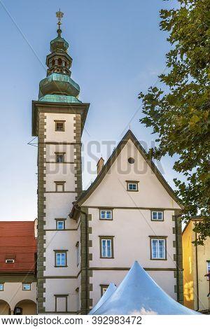 The Landhaus Klagenfurt Is An Important Historical Building In Klagenfurt, Carinthia, Austria