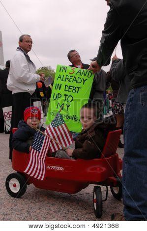 Tax Day Wagon