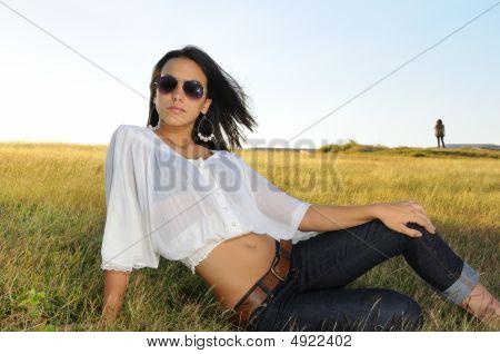Summer Fashion Girl