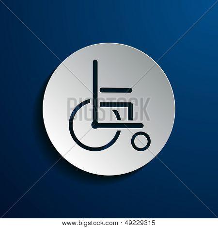 Stock icons wheelchair
