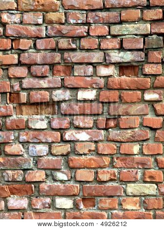 Detailed Brick Wall Background -