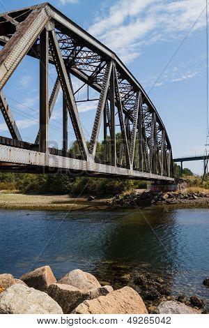 Bridge At Ambleside Park