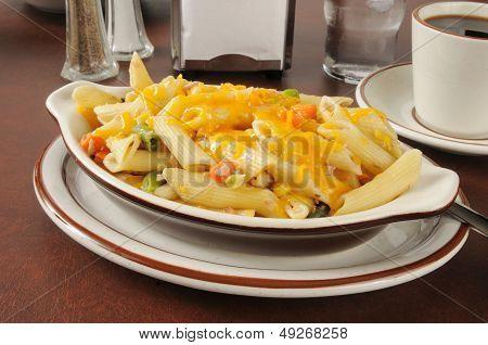 Tunafish Casserole With Cheddar Cheese