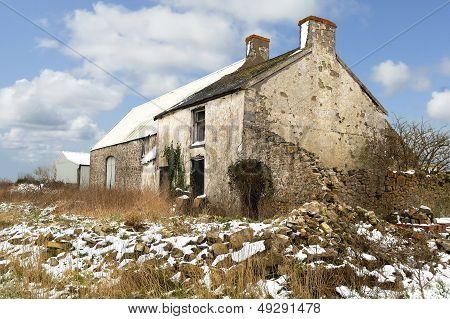 Old Derelict Farm Building.