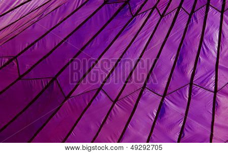 Purple Parachute Tent