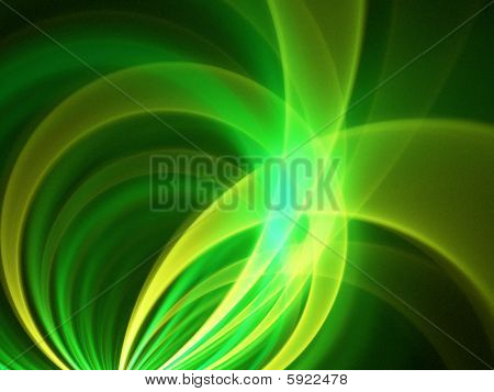Abstract 2D Fractal Design, based on arcs and circles.  Great for backgrounds. poster