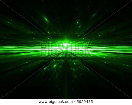 Matrix Horizon - Fractal Illustration