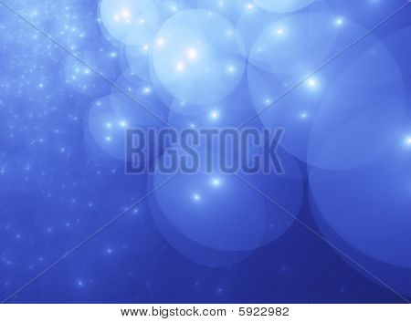 Light Blue Star Orb Clouds