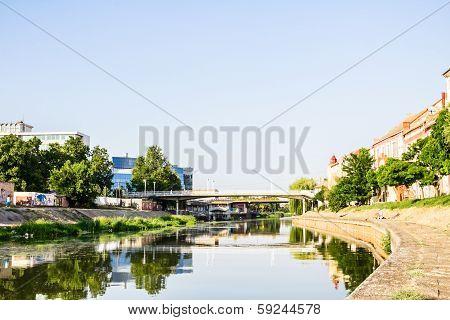River Begej In Zrenjanin, Vojvodina