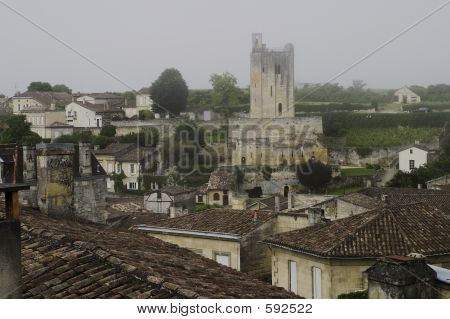 View Of St. Emilion, France