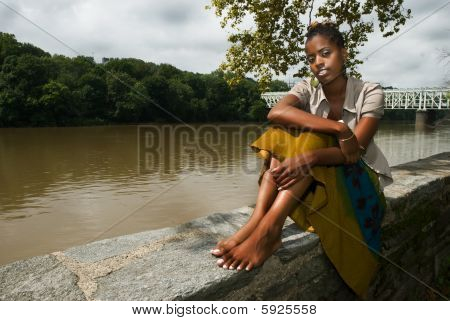 Relaxing By The River