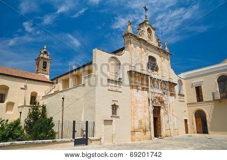 Sanctuary of Blessed Giacomo. Bitetto. Puglia. Italy. poster