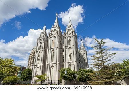 The Church Of Jesus Christ Of Latter-day Saints' Temple