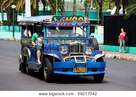 Jeepneys In Philippines.