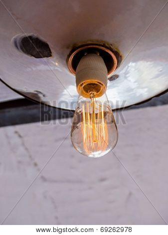 energy saving lamp, symbolic photo for energy saving, environmental protection, ecology