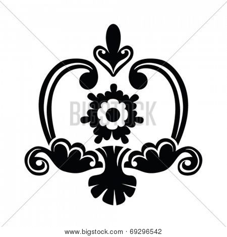 British vintage floral pattern