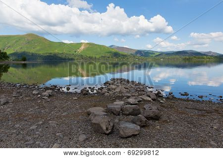 Derwent Lake District National Park Cumbria England uk near Keswick