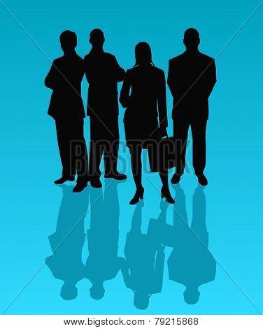 Business Team - vector