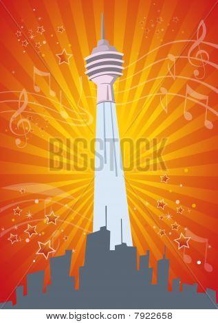 Music Celebration Illustration