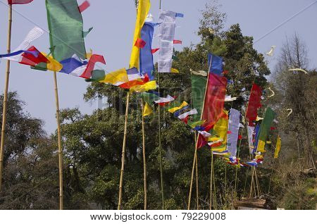 Arunachal Pradesh Prayer Flags