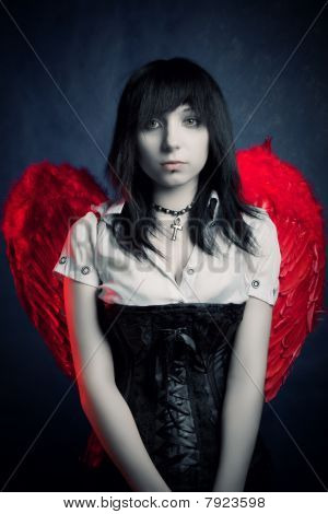 Sad Lonely Angel