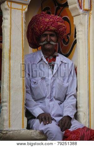 Indian Watchman Standing