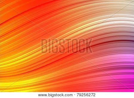 Multicolor horizontal background like wave abstract sunshine