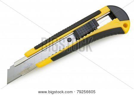 Yellow Utility Knife