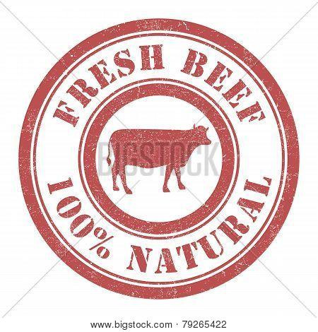Fresh beef stamp