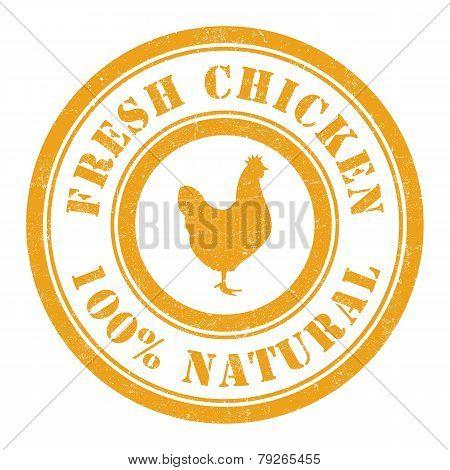 Fresh Chicken Stamp
