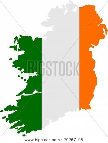 Map of Ireland