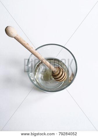 Honey Dipper In Glass