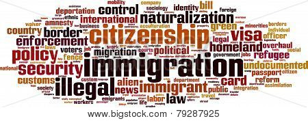 Immigration Word Cloud