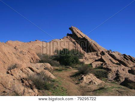 Vasquez Rocks Panorama 2