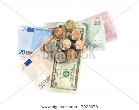Various Money Currencies