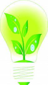Lamp green energy