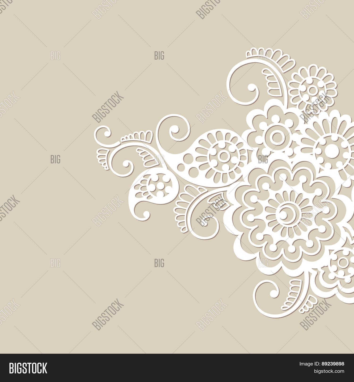 Flower Vector Vector Photo Free Trial Bigstock