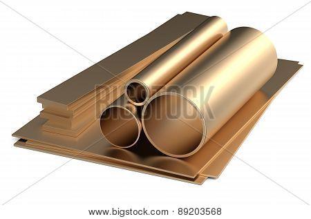 Rolled Metal, Bronze