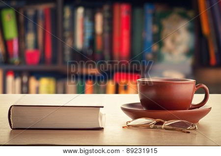 Book And Tea