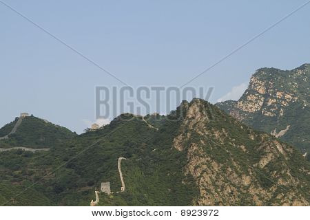 Huangyaguan Great Wall In Tianjing City, China
