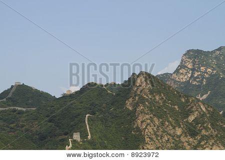 Huangyaguan gran muralla en la ciudad de Tianjin, China