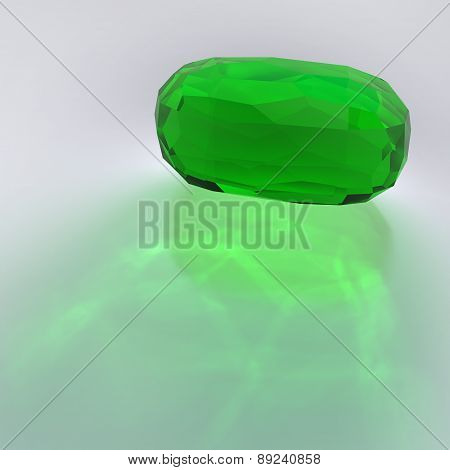 Emerald Faceted