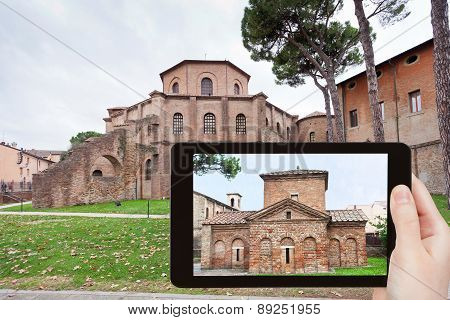Photo Of Ancient Basilica In Ravenna, Italy