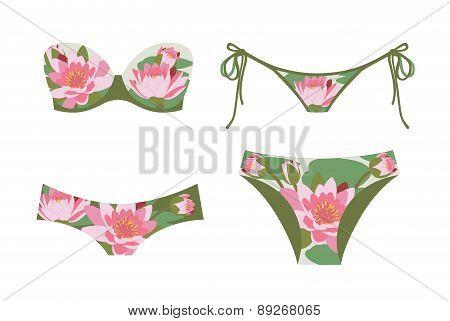 Print Of Lilies