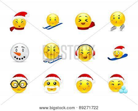 Christmas Anime Stickers