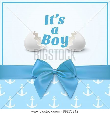 Template for baby shower celebration.