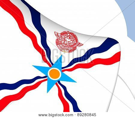 Flag Of Assyria